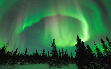northern lights living in resonance